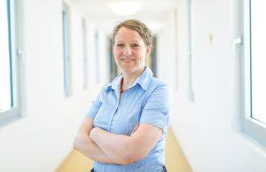 Portrait von Prof. Dr. med. Katja Kölkebeck, Professorin für Psychopathologische Forschung und Oberärztin; ©Frank Preuß, Universität Duisburg-Essen
