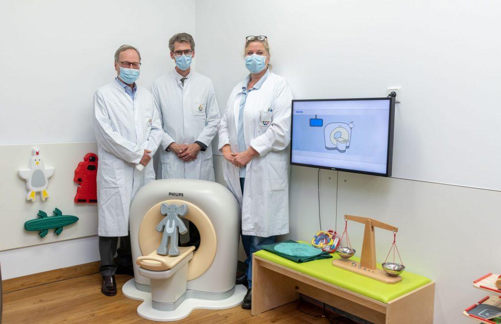Kitten-Scanner im WPE hilft jungen Patienten