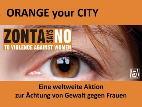 Aktionstag am 25. November: Fachklinik Kamillushaus setzt ein leuchtendes Zeichen: Nein zu Gewalt gegen Frauen