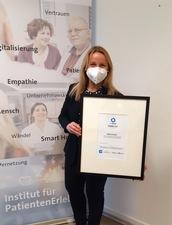 Essener Uniklinik-Institut für PatientenErleben gewinnt 1A-Award