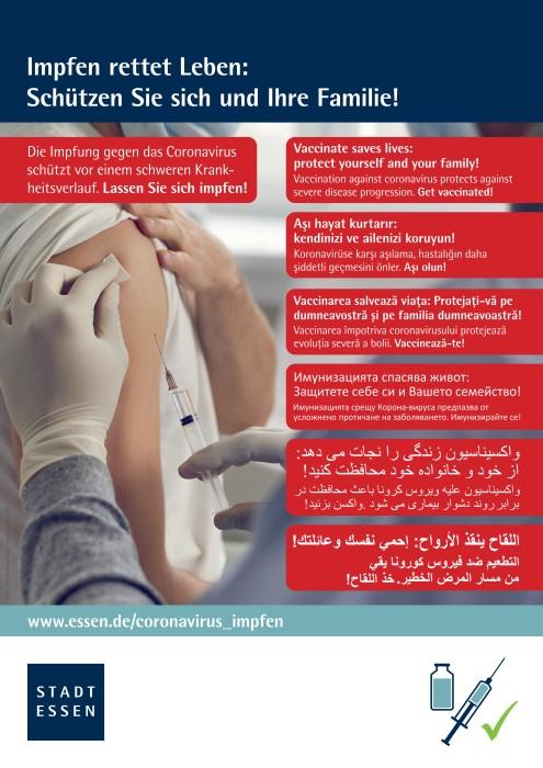Mehrsprachige Aufklärungskampagne wird ausgeweitet