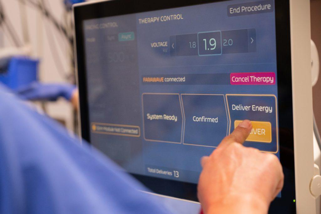Innovative Behandlungsmethode bei Vorhofflimmern – Verödung mittels pulsierender Stromstöße