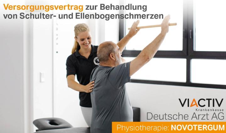 Die Deutsche Arzt AG, die NOVOTERGUM GmbH und die VIACTIV schließen neuen wegweisenden Versorgungsvertrag