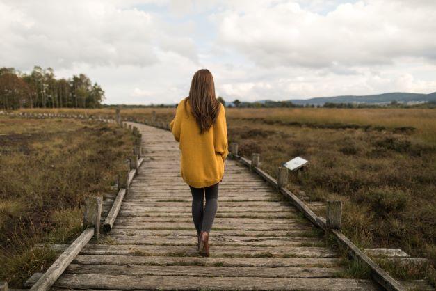 Trauerwandern: Die Seele geht zu Fuß